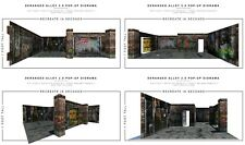 Extreme Sets Pop-Up Diorama Deranged Alley 2.0 1/12 Scale