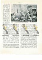 Plague, William Blake c1790, Book Illustration (Print), 1934