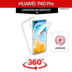 Coque 360° Huawei P40 Pro -  Ultra Résistant  -  Protection Intégrale