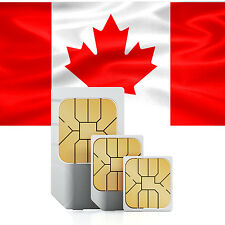 Data SIM card for Canada with 500 MB for 30 days