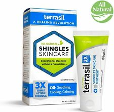 Terrasil Shingles Skincare Ointment 1.5oz (45g) All Natural - NEW>FREE SHIPPING!
