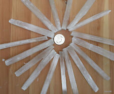 50gms Raw Selenite Crystal Thin Wands Dowser Angel Stone Healing Chakra Mixed