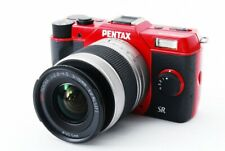 Pentax Q10 12.4MP 5-15mm Lens Kit Red [Exc w/8GB SD Card From Japan [097]