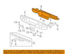 Hummer GM OEM H3 Rear Bumper-Step Pad Protector Scratch Guard Cover 15794048