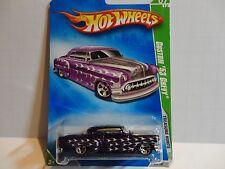 2009 Hot Wheels Treasure Hunt #49 Purple Custom '53 Chevy w/5 Spoke Wheels