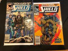 Rare!! Marvel Comics. Nick Fury, Agent of Shield #1 and #3