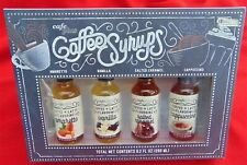 CAFE PLUS COFFEE SYRUPS ~ NEW!  ~ AMARETTO, VANILLA, SALTED CARAMEL, CAPPUCCINO