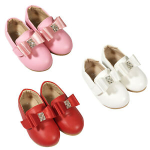 BABY INFANTS KIDS GIRLS WEDDING BRIDEMAID SANDALS CASUAL SHOES SIZE 3-7