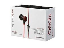 Genuine Monster Beats by Dr Dre iBeats In Ear Cuffie Auricolari Nero