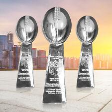2020 NFL SUPER BOWL LIV Trophy Replica Vince Lombardi Kansas City Chiefs 49ers