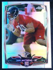 2014 Topps Chrome Refractors #199 Jake Matthews - NM-MT