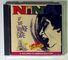 NINA SIMONE-LIVE AT THE VILLAGE GATE-1993 RHINO COLLECTABLES CD