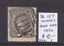Victoria 6d Emblem Qv Used Sg 107 Shade? Wmk 6