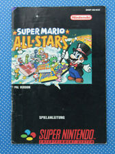 Super Mario All-Stars | Instruction Booklet | Spieleanleitung | Super Nintendo |