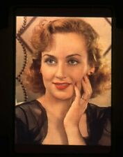 Carole Lombard Color Glamour Pose Original 35mm Transparency Hollywood's Angel
