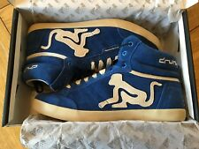 Unisex  BNWT DRUNKNMUNKY Retro blue 'Boston' style fashion shoes, UK 3, EU 37