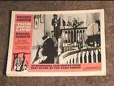 THIS SPORTING LIFE 1963 LOBBY CARD #4