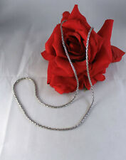 """Sterling Silver Ba Indonesia Chain 20.17g 28"""" Necklace Cat Rescue"""