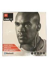 JBL Harman Wireless Sport Headphones Bluetooth Reflect Fit Heart Rate Monitor