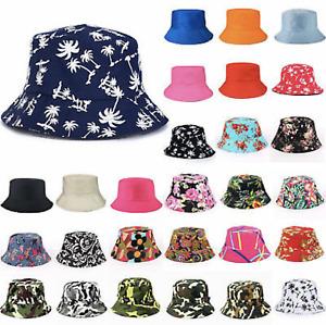 Mens Ladies Burgundy Cotton Bush Bucket Hat Festival Fishing Sun Beach Cap