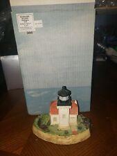 Harbor Lights Lighthouse Burrows Island Washington 108 signed w box