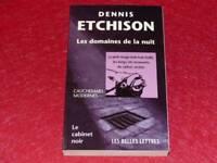 [BIBLIOTECA H. & P J. OSWALD] DESPACHO NEGRO # 26 D. ETCHISON ÁREAS NOCHE 1999