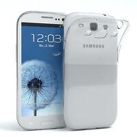 Ultra Slim Cover für Samsung Galaxy S3 / Neo TPU Case Silikon Hülle Transparent