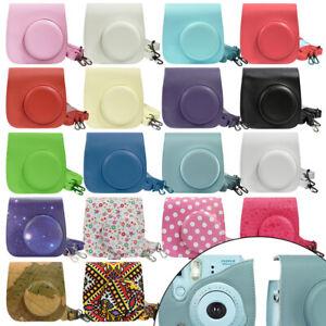 Camera Case Bag for Fujifilm Instax Mini 8 / 8+ / 9 Camera - Choose Color/Design