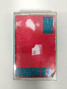 Vintage Run DMC Raising Hell Music Cassette Tape 1986 Audio Rap Album