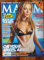 Mag Sept 2003 - Kristanna Loken, Kelly Rowland, Alessia Fabiani, Rebekah!