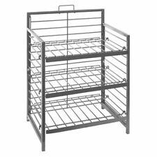 "Display Rack with Three Shelves 15"" x 10"" x 21"" (W x D x H)"
