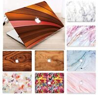 "Laptop hard Shell Case Cover For Macbook Air 11"" 12"" 13"" 13.3"" Retina 2012-2020"