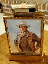 Vintage John Wayne Kentucky Bourbon Whiskey Ceramic Collectible Decanter, 1979