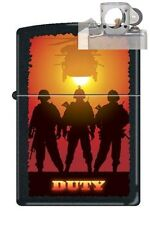 Zippo 0212 military duty helicopter Lighter with PIPE INSERT PL