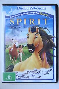 Spirit Stallion Of The Cimarron DVD Animated Action Adventure Matt Damon