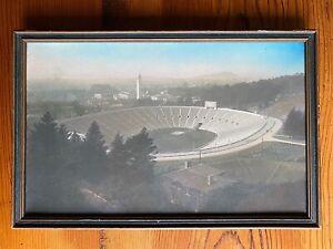 California Memorial Football Stadium University Berkeley 1920s Tinted Photo