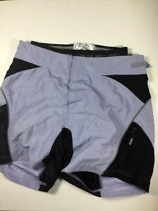Louis Garneau Ventura Baggy Bicycling Shorts W/ Padded Liner Twilight Womens Sm