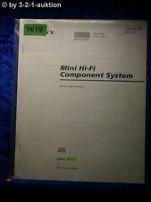 Sony Bedienungsanleitung MHC RX30 Mini Component System (#1619)