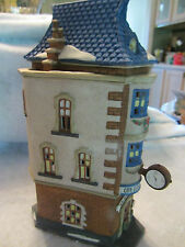 Dept 56 CITY CLOCKWORKS - Christmas in the City  - # 55310  (116CT&716SH&1117)