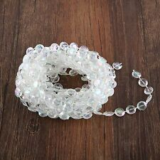 3.28 FT/16.4FT Crystal Acrylic Bead Garland Chandelier Hanging Wedding Décor C9D