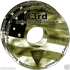 83rd Infantry Division WW2 INFO, FILES, REPORTS, BOOKS, NARRATIVE, HISTORY 2CDs