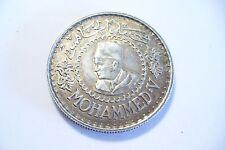 TRES JOLIE  MONNAIE ARGENT - 500 FRS MOHAMED V - 1956  - MAROC  !!