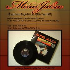 Michael Jackson - Billie Jean Signiert Signed InPerson (12'inch Maxi Single LP)