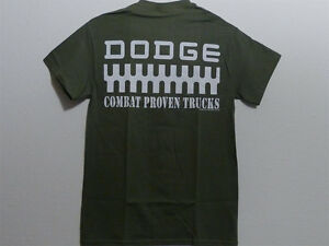 Power Wagon Combat Proven Green T-Shirt - Dodge Power Wagon Gear