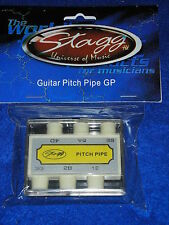 STAGG Accordeur 6 notes pour GUITARE Rocket guitar pitch pipe GP