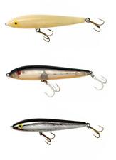 Rebel Jumpin' Minnow Topwater Bait 4 1/2 inch Topwater Walker Bass Fishing Lure