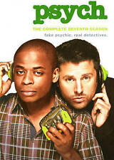 PSYCH COMPLETE SEVENTH SEASON 7 DVD Set NEW!!!FREE FIRST CLASS SHIPPING !!