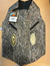 Drake Waterfowl System Dog Vest Mossy Oak Bottomland Camo Large Duck Hunting