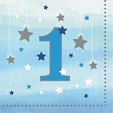 One Little Star Boy - 1st Birthday Luncheon Napkins