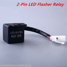 2-Pin LED Flasher Relay Fix Motorcycle Turn Signal Lights Hyper Flash For Ducati